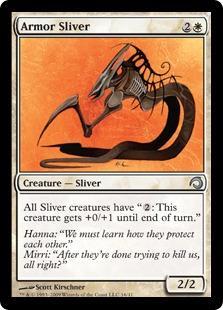 Armor Sliver (foil)