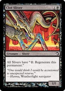 Clot Sliver (foil)