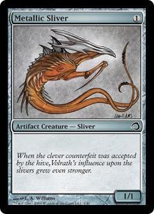 Metallic Sliver (foil)