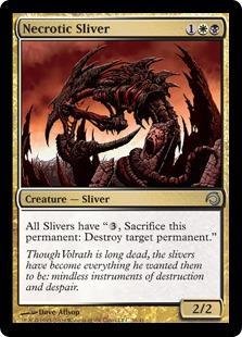 Necrotic Sliver (foil)