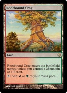Rootbound Crag (foil)