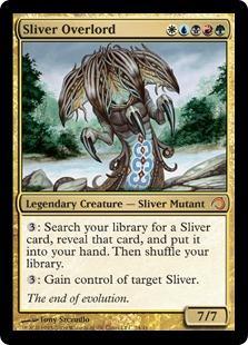 Sliver Overlord (foil)