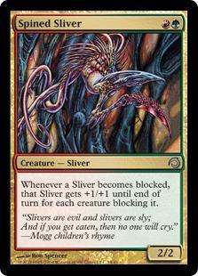 Spined Sliver (foil)