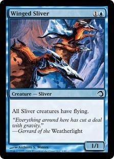 Winged Sliver (foil)