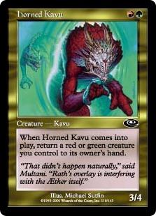 Horned Kavu