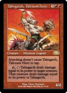 Tahngarth, Talruum Hero