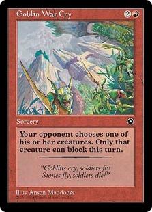 Goblin War Cry