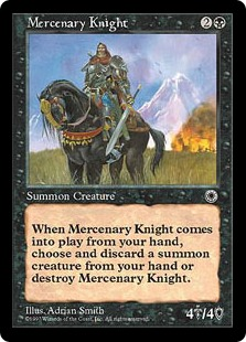 Mercenary Knight