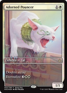 Adorned Pouncer (foil) (full art)