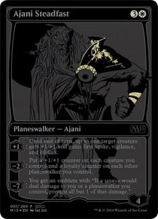 Ajani Steadfast (foil)