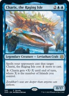 Charix, the Raging Isle (foil)