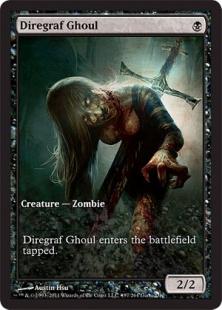 Diregraf Ghoul (full art)