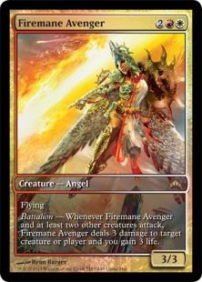 Firemane Avenger (foil) (full art)