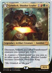 Grimlock, Dinobot Leader (foil)