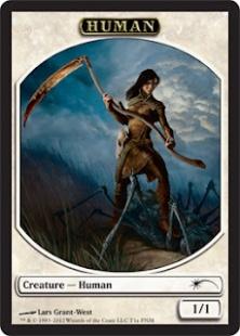 Human token (1/1)
