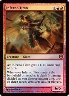 Inferno Titan (foil)