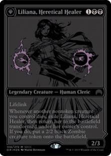 Liliana, Heretical Healer (foil)