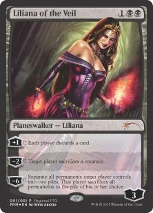 Liliana of the Veil (foil)