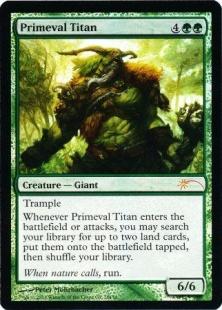 Primeval Titan (foil)