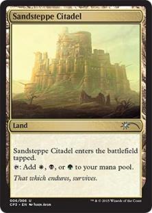 Sandsteppe Citadel (foil)