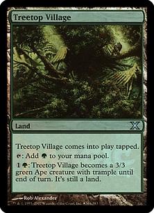 Treetop Village (foil)