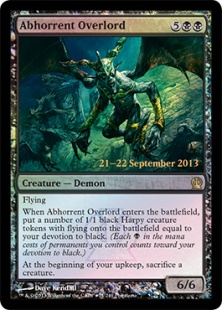 Abhorrent Overlord (foil)