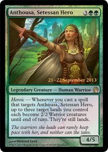 Anthousa, Setessan Hero (foil)