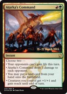 Atarka's Command (foil)