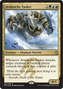 Avalanche Tusker (foil)