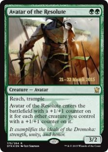 Avatar of the Resolute (foil)