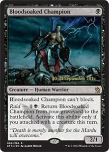 Bloodsoaked Champion (foil)