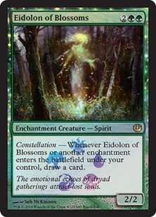 Eidolon of Blossoms (foil)