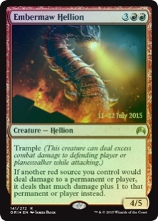 Embermaw Hellion (foil)