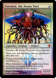 Emrakul, the Aeons Torn (foil)