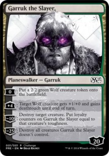 Garruk the Slayer (oversized)