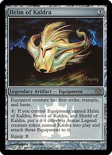 Helm of Kaldra (foil)