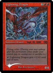 Lightning Dragon (foil)