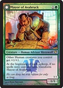 Mayor of Avabruck (foil)
