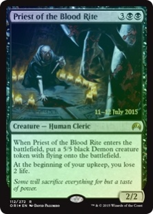 Priest of the Blood Rite (foil)