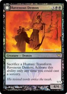 Ravenous Demon (foil)