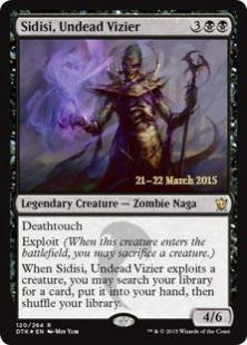 Sidisi, Undead Vizier (foil)