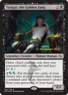 Tasigur, the Golden Fang (foil)