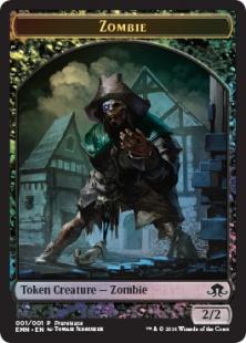 Zombie token (foil) (2/2)