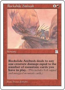 Rockslide Ambush