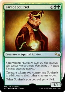 Earl of Squirrel (foil)