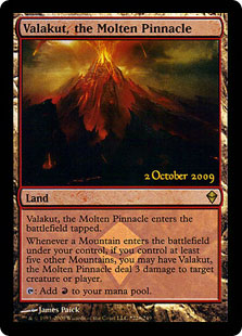 Valakut, the Molten Pinnacle (foil)