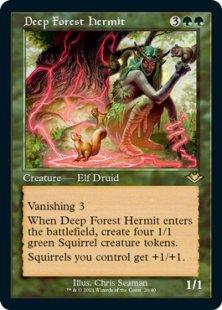 Deep Forest Hermit (retro frame) (foil) (showcase)