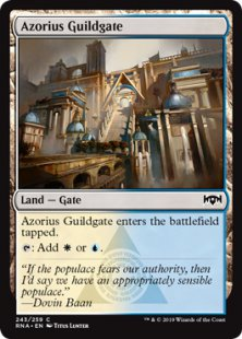 Azorius Guildgate (1)