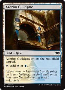 Azorius Guildgate (2)