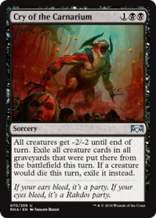 Cry of the Carnarium (foil)